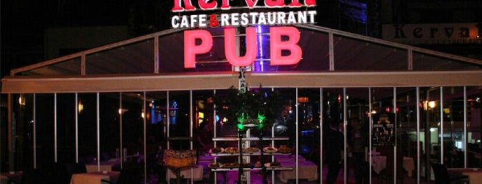 Kervan Pub & Restaurant is one of Lieux qui ont plu à Erkan.