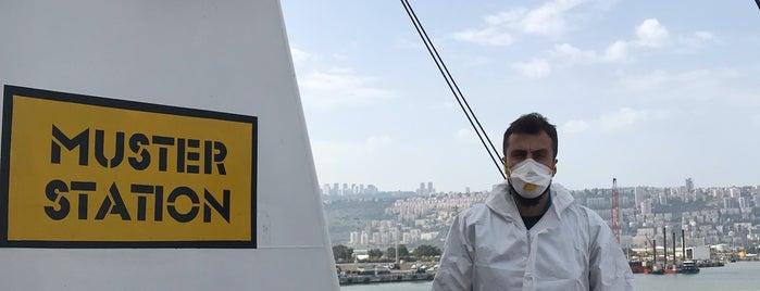 Haifa Port is one of Antigoni 님이 좋아한 장소.