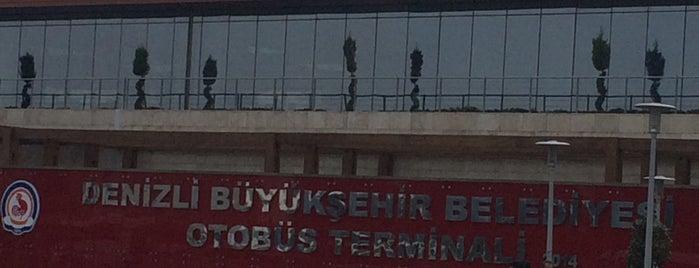 Denizli Şehirler Arası Otobüs Terminali is one of Orte, die Özgür Yaşar gefallen.