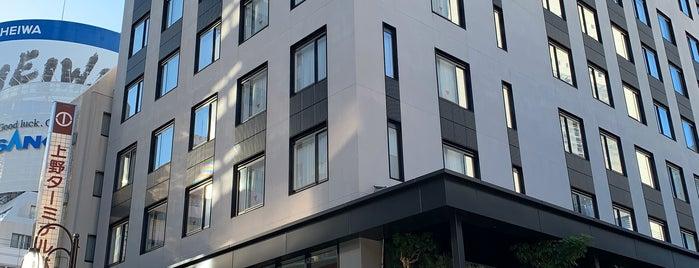 NOHGA HOTEL UENO is one of สถานที่ที่ Sage ถูกใจ.