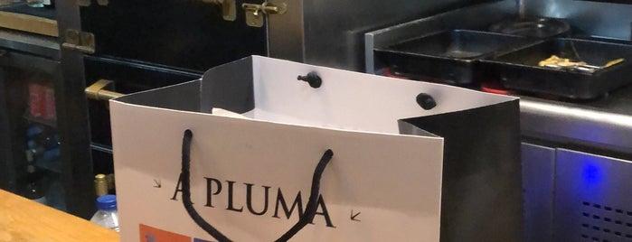 A Pluma is one of Barcelona #1.