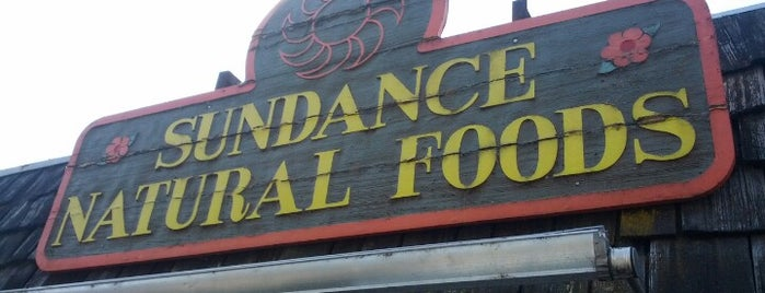 Sundance Natural Foods is one of Locais salvos de Rachel.