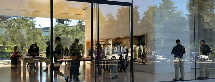 Apple Park Visitor Center is one of Apple Stores US West.