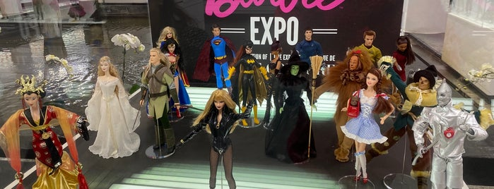 Barbie Expo is one of Montreal.