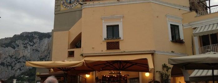 Bar Tiberio Capri is one of Sorrento güney italya.