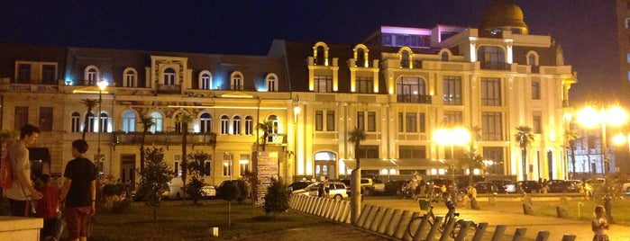 Europe Square | ევროპის მოედანი is one of Lugares favoritos de Haydar.