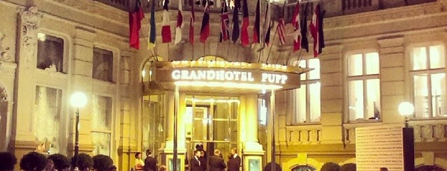 Grandhotel Pupp is one of PRAGUE.