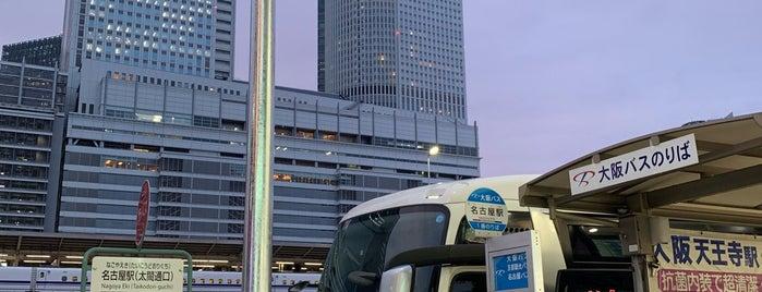 大阪バス 名古屋駅停留所 is one of よく行くところ.