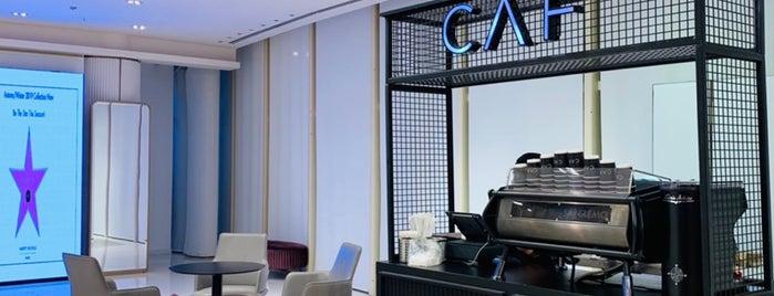 CAF Cafe is one of Lieux sauvegardés par Queen.