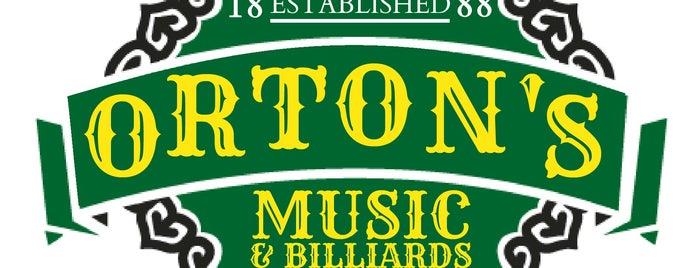 Orton's Billiards & Pool is one of สถานที่ที่บันทึกไว้ของ Ridgely.