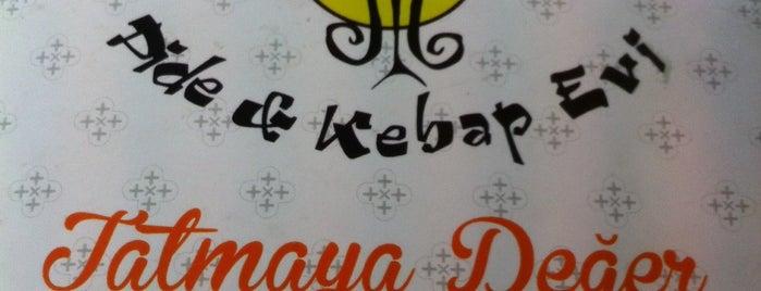 İpekzade Pide ve Kebap Evi is one of สถานที่ที่บันทึกไว้ของ Emre.