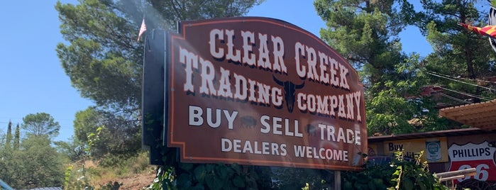 Clear Creek Trading is one of Locais curtidos por Mike.