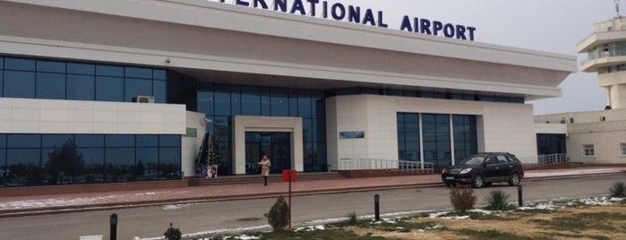 Navoiy Xalqaro Aeroporti / Navoi International Airport (NVI) is one of Airports Visited.