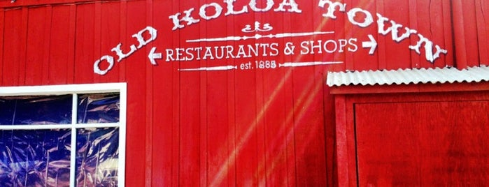 Old Koloa Town is one of South Shore Kauai.