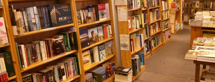 Charlie Byrne's Bookshop is one of Galway.