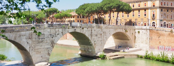 Ponte Cestio is one of Rome / Roma.