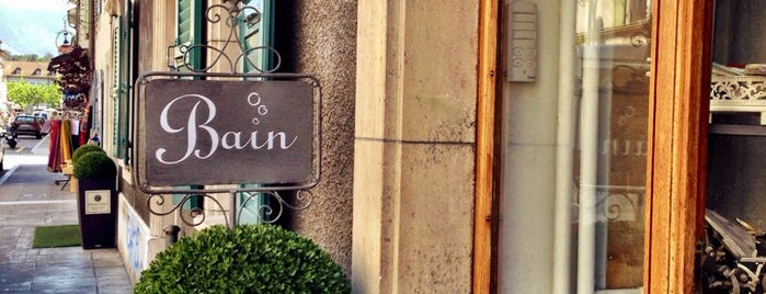 Autour Du Bain is one of Cool spots in Geneva.