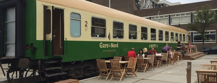 Gare du Nord is one of Vegan in Rotterdam.