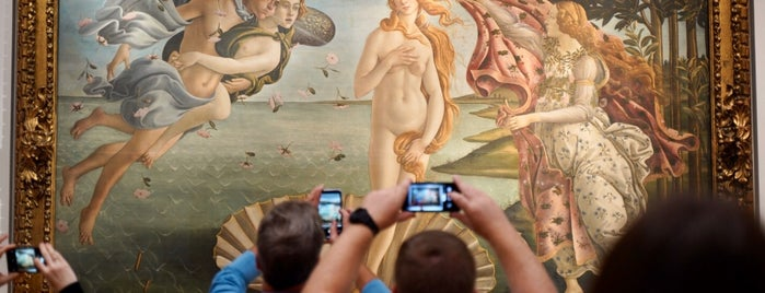 Birth of Venus - Botticelli is one of Florence.