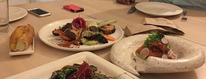 Hueso Restaurant is one of Tempat yang Disukai Vanessa.