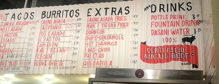 The Taco Stand is one of Miami.