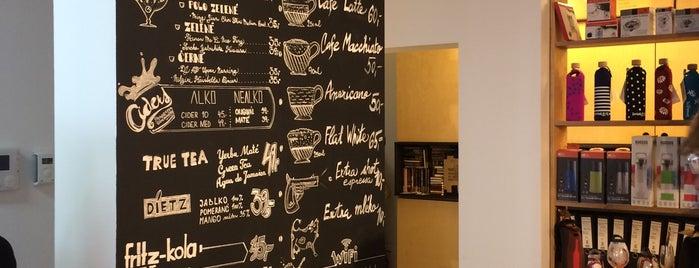 Cestovatelský obchod is one of Kde si pochutnáte na kávě doubleshot?.