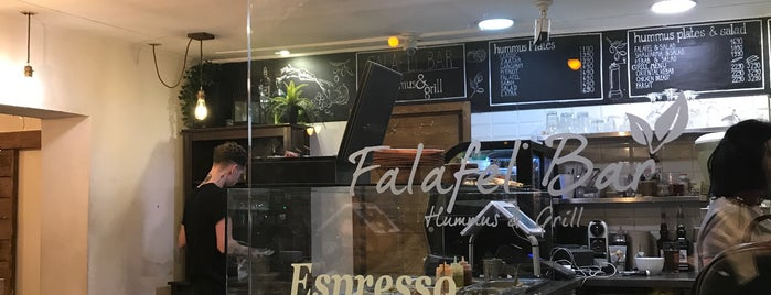 Falafel Bar is one of budapest.