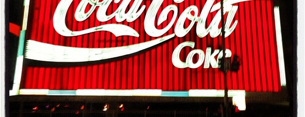 The Coca-Cola Billboard is one of Australia - Sydney.