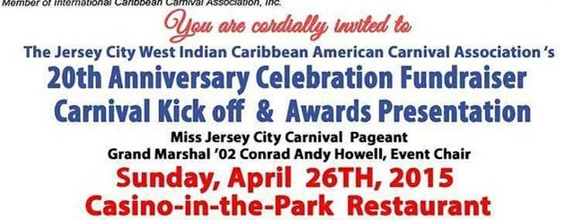 Casino in the Park is one of JC.