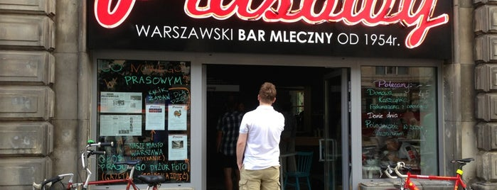Bar Mleczny Prasowy is one of To do list.