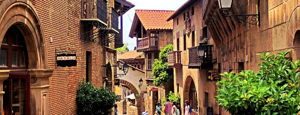 Poble Espanyol is one of Barca sights.
