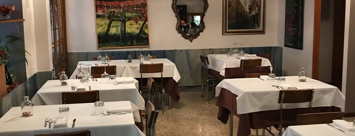 Trattoria da Omer is one of Italy September 2015.