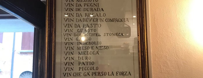 Osteria All'Adriatico Mar is one of drink.