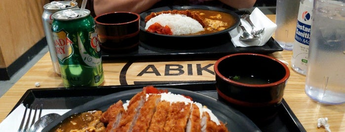 Abiko Curry is one of KTown.