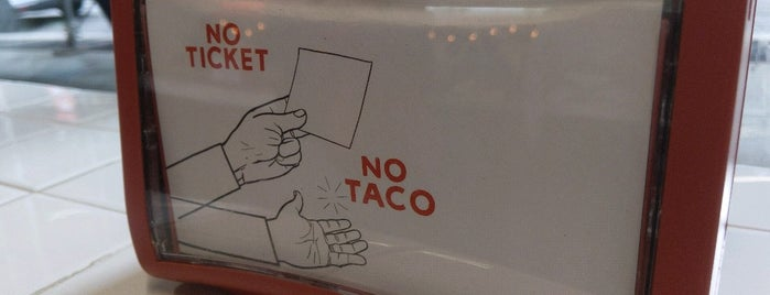 Los Tacos No. 1 is one of Do: NYC ☑️🆕.