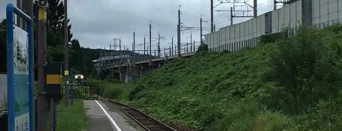 Tsugaru-Futamata Station is one of JR 키타토호쿠지방역 (JR 北東北地方の駅).