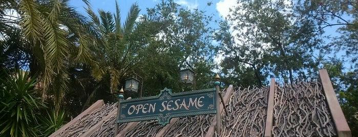 オープンセサミ is one of Tokyo Disney Sea.
