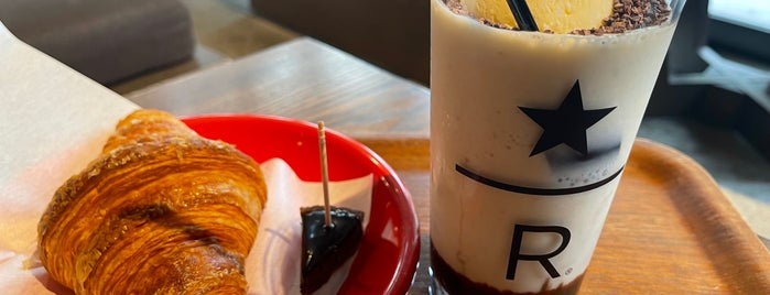 Starbucks is one of break faster.