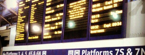 Aberdeen Railway Station (ABD) is one of mamma.