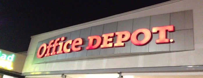 Office Depot is one of Lieux qui ont plu à Beatríz.