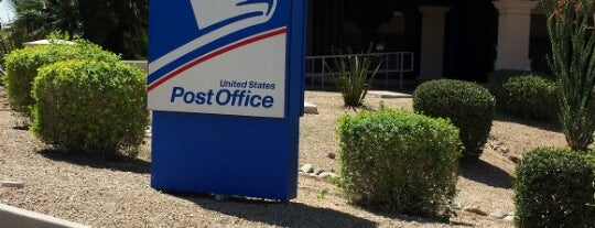 US Post Office is one of JRyan's Scottsdale / Phoenix.