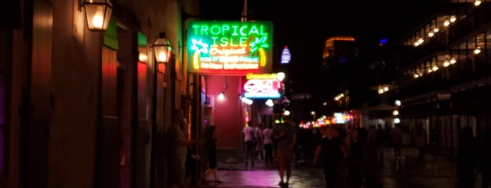 Tropical Isle's Bayou Club is one of OffBeat's favorite New Orleans music venues.