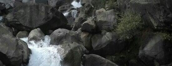 Wapama Falls is one of Yosemite.
