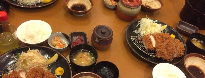 名代とんかつ勝富 焼津インター店 is one of Orte, die Takashi gefallen.