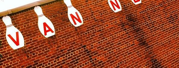 Van Nest Lanes is one of 7-10 Split ( Worldwide ).