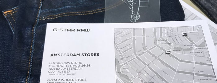 G-Star Raw is one of Best of Amsterdam.