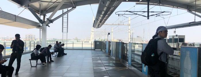 Stasiun MRT Lebak Bulus is one of MRT trip.