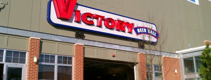 Victory Beer Hall is one of Locais curtidos por IS.