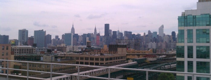 MetLife Rooftop Terrace is one of NYC - Outdoor Bars & Restaurants.