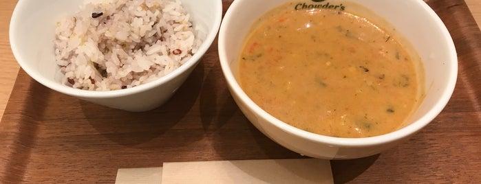 Chowder's Soup & Deli is one of Stephanie : понравившиеся места.